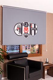 Promosyonel 140x200 Beşiktaş  110.Yıl Stor Perde