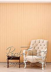 Pudra Kahve Klasik Seri Dikey Pvc Perde - 3