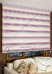 Pudra Pembe Mor Pileli Lotus Zebra Perde - 5