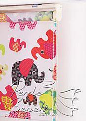 Renkli Filler Baskılı Klasik Stor Perde - 5