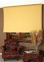 Sarı  Linen Stor Perde - 1