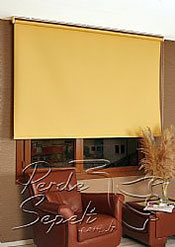 Sarı  Linen Stor Perde - 3
