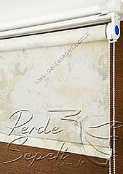 Sarı Isabella Baskılı Klasik Stor Perde - 4