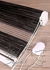 Siyah Üzerine Gri Bamboo Star Zebra - 7