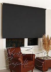 Siyah Linen Stor Perde - 3