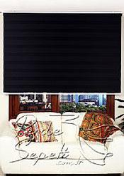 Siyah Panorama Zebra Perde - 3