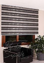 Siyah Pileli Dia Zebra Perde - 5