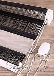 Siyah Pileli Dia Zebra Perde - 7
