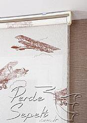 Uçaklar Design Stor Perde - 4