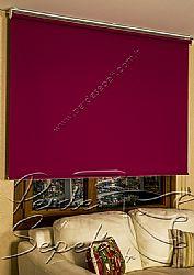 Vişne Çürüğü Linen Stor Perde - 3