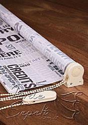 Gazete Baskılı Klasik Stor Perde - 4