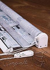 Gazete Baskılı Zebra Perde - 5