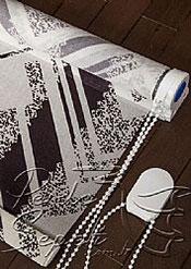 Zig Zag Desen Design Tül Stor Perde - 5